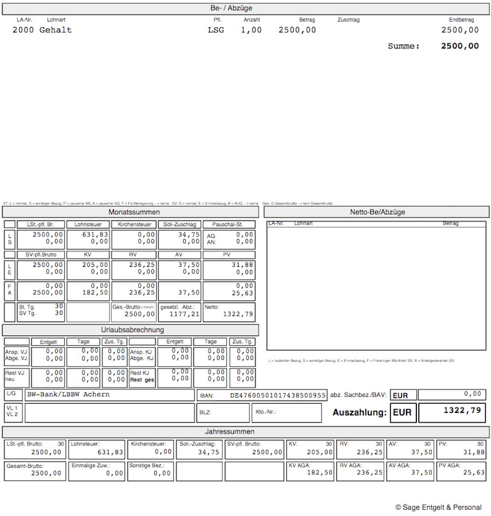 Rechnung Schreiben Stundenlohn Muster
