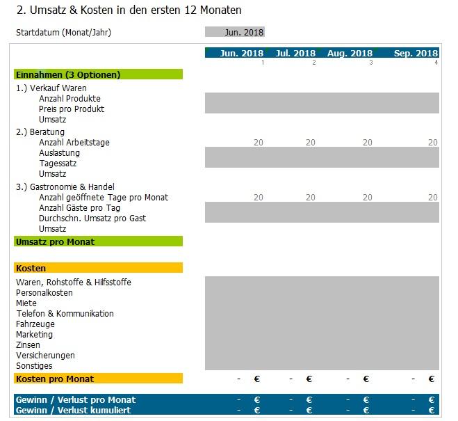 Finanzplanung: Excel-Tool für den Kurz-Check - Vorlage